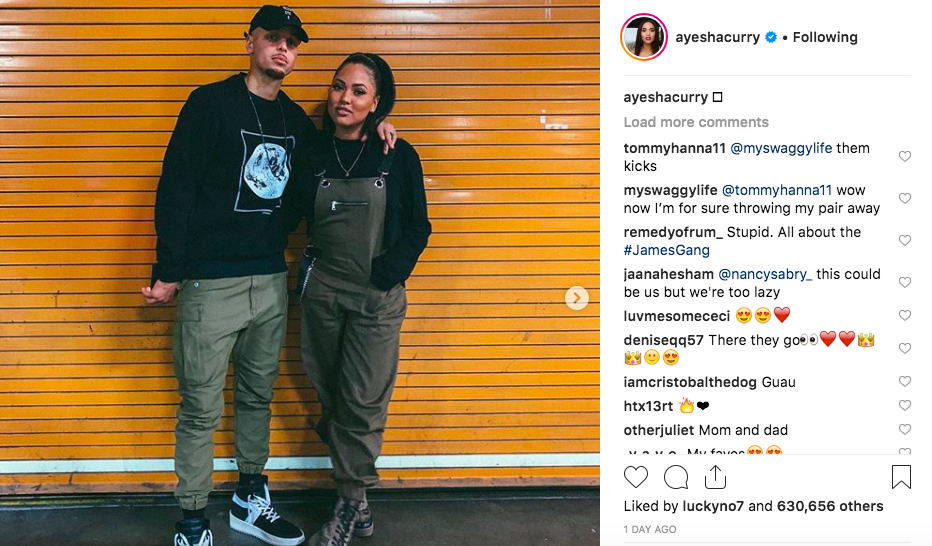 003c65f6f10 Ayesha Curry joins Steph in trolling people over moon landing comments -  SFGate