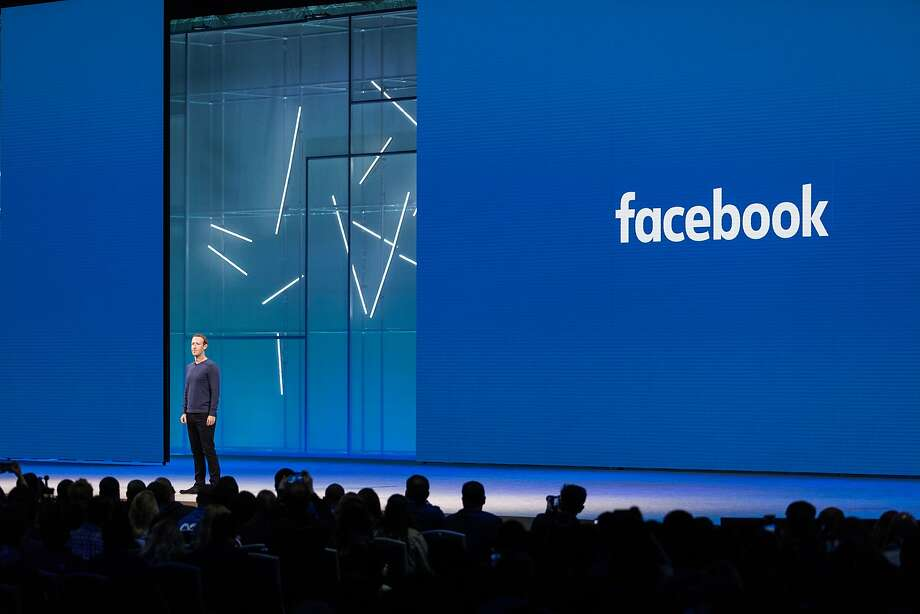 """FILE-- Mark Zuckerberg, Facebook's chief executive, speaks at F8, the company's annual developer conference in San Jose, Calif., May 1, 2018. Facebook announced on Dec. 14, 2018, that it had discovered a bug that allowed outsiders access to private photos, potentially affecting some 6.8 million people who use the service. """"We have fixed the issue but, because of this bug, some third-party apps may have had access to a broader set of photos than usual,"""" Tomer Bar, an engineering director at the company, said in a blog post. (Jason Henry/The New York Times) Photo: Jason Henry / New York Times 2018"""