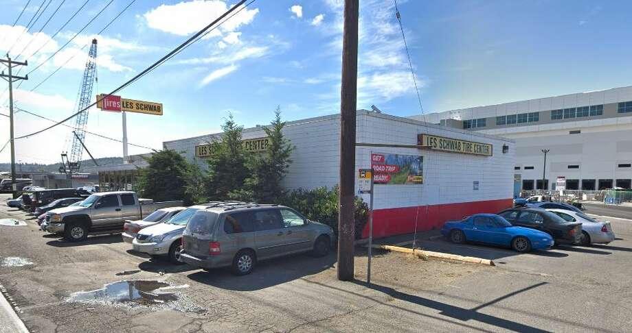Les Schwab in Georgetown, Seattle as seen on Google Maps. Photo: Courtesy Google Maps