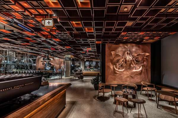 The Starbucks Reserve Roastery in New York City. (Photo by Matt Glac, Starbucks)