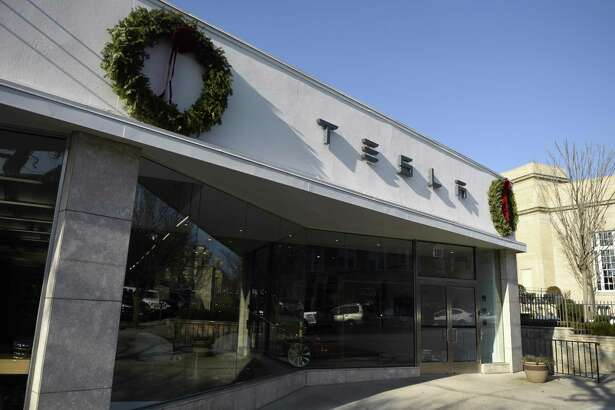 Tesla has a showroom at 340 Greenwich Ave., in downtown Greenwich, Conn.