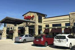 This location in Webster is among the Houston area's Luby's restaurants. Sharing the building is a Fuddruckers, a brand that Luby's owns.