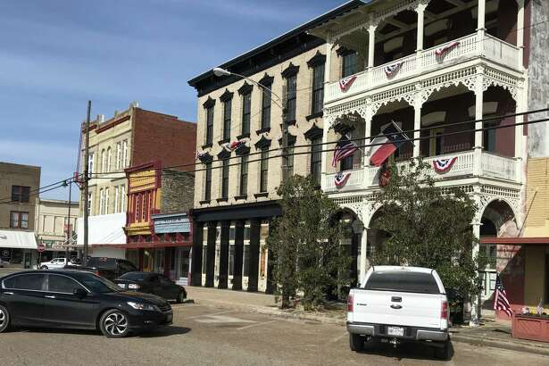 Downtown Navasota is home to a number of historic buildings, either sitting empty or in the process of being restored.