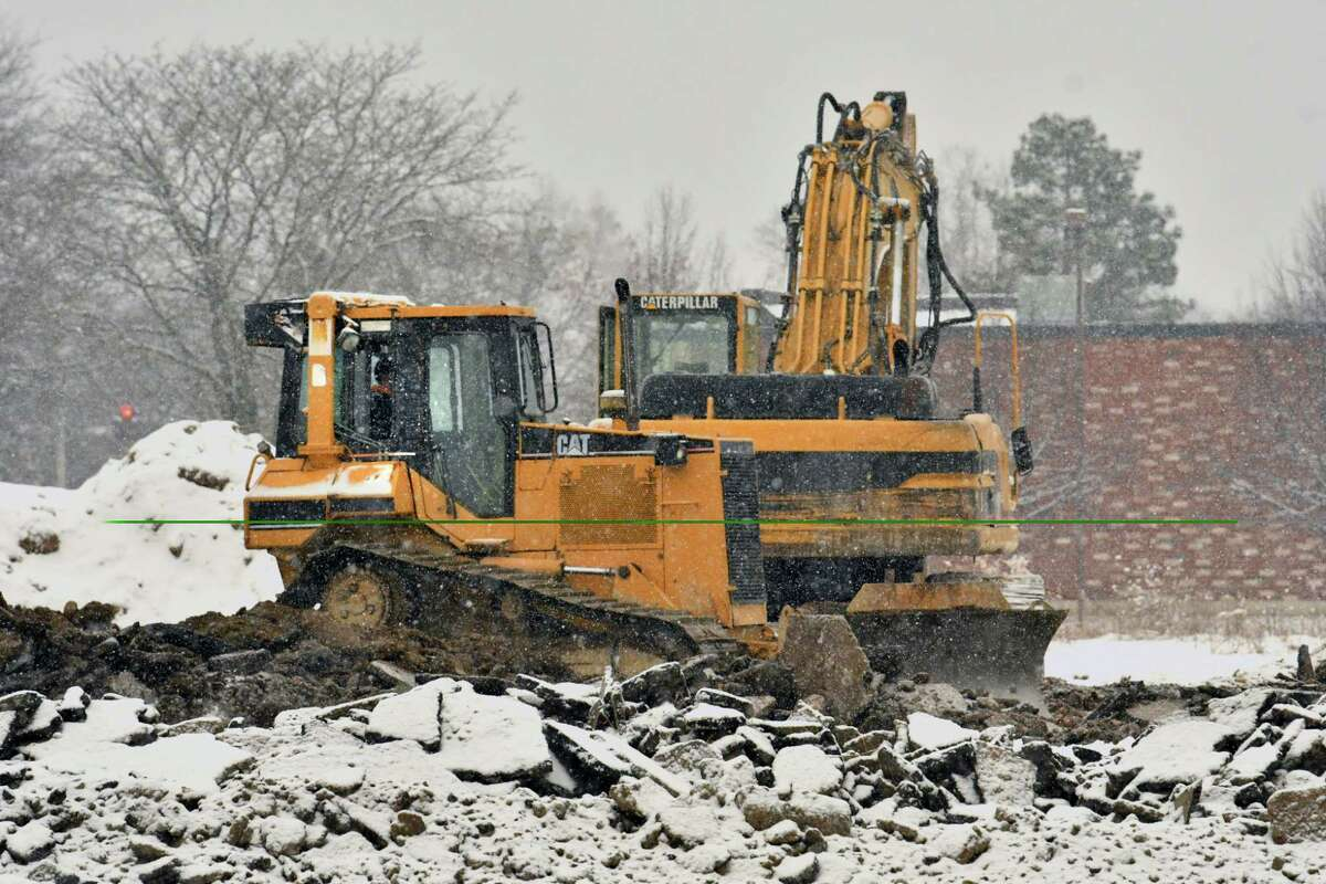 Keep clicking through the slideshow to see other developments in Colonie.Construction crews are building the new l-87 exitto connect Albany International Airport and the Northway in Colonie, N.Y.