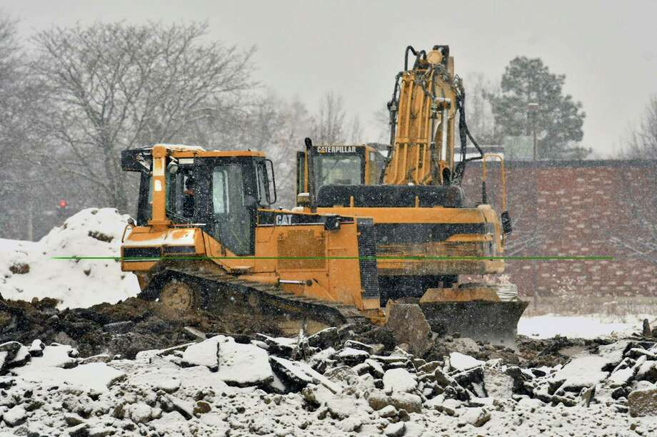 Keep clicking through the slideshow to see other developments in Colonie.Construction crews are building the new l-87 exit to connect Albany International Airport and the Northway in Colonie, N.Y.   Photo: Lori Van Buren