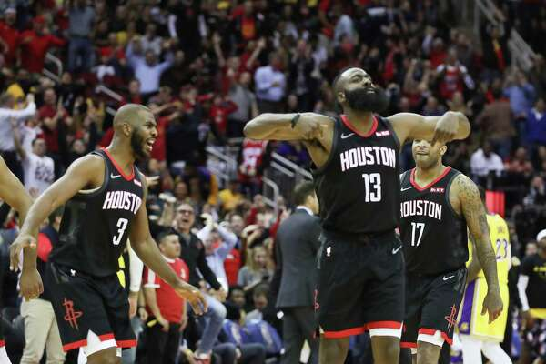 3786c9a4df5d Rockets  James Harden named Western Conference player of week ...