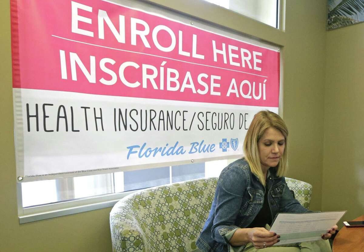 Catherine Reviati reviews the different Affordable Care Act enrollment options, Thursday, Nov. 2, 2017, in Hialeah, Fla. >>See the best and worst states when it comes to children's health care in the photos that follow...