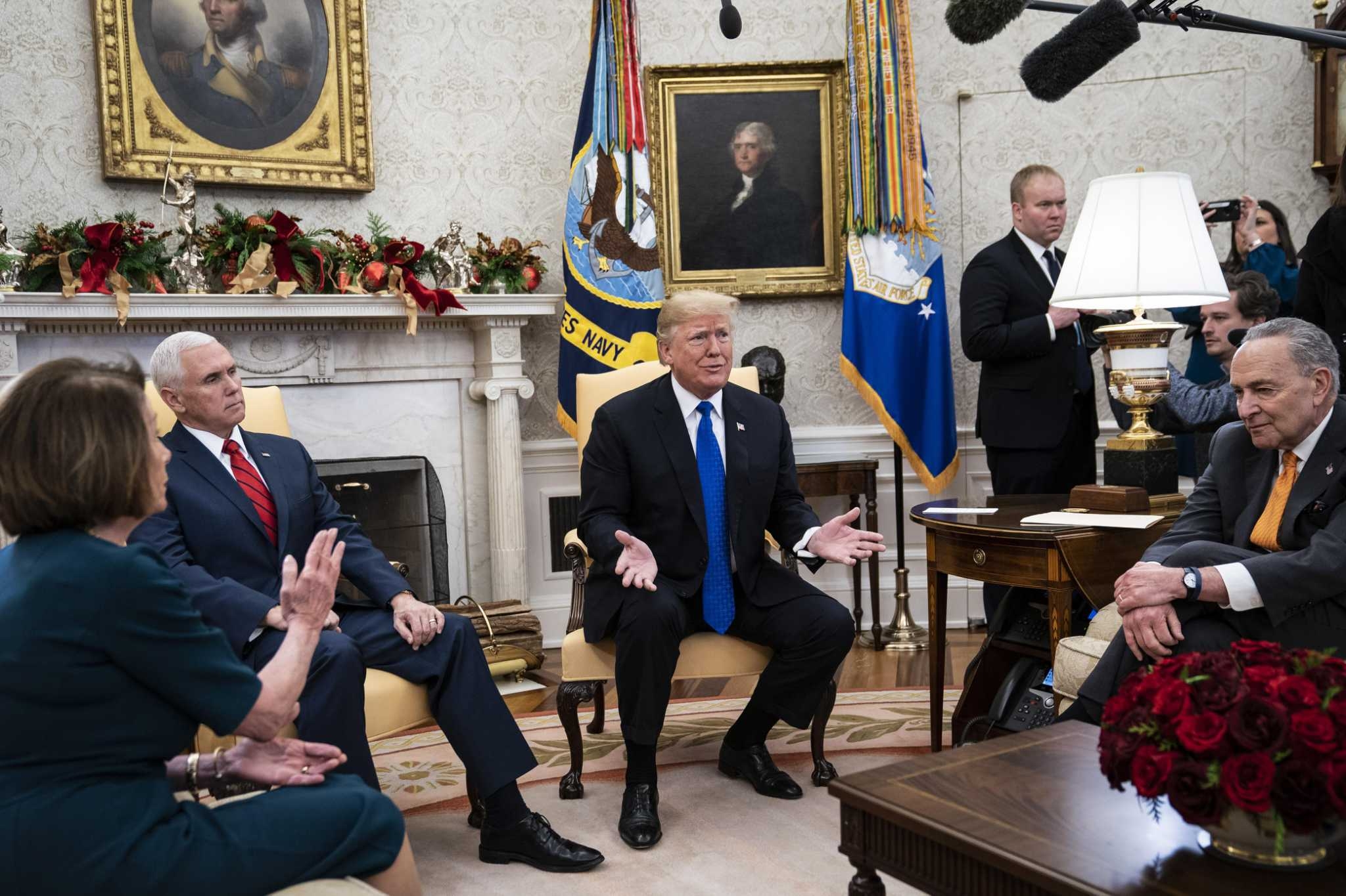 White House brawl over the wall amounts to theater of the absurd [Opinion]