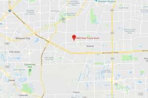 Google Maps image of West Fuqua at Sam Houston Tollway.