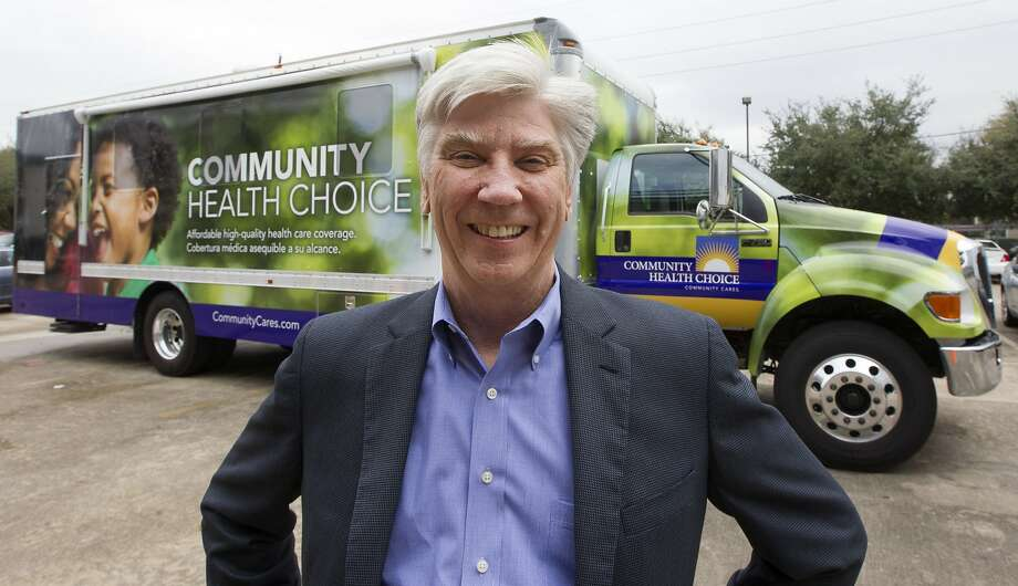 CEO of Community Health Choice Ken Janda  poses for a portrait outside his mobile office on Tuesday, Dec. 23, 2014, in Houston. The mission of the mobile office is to take health insurance enrollment to the people. ( J. Patric Schneider / For the Chronicle ) Photo: J. Patric Schneider, For The Chronicle