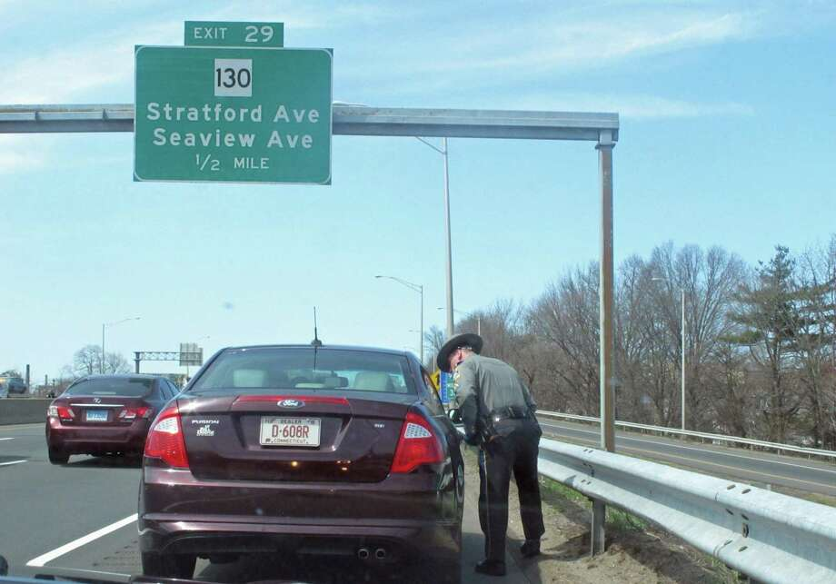 Connecticut State Troopers are among those state employees with some of the highest overtime payments. Photo: Cedar Attanasio / Hearst Connecticut Media / Connecticut Post