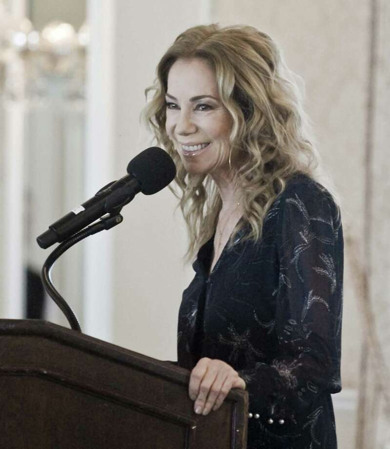 'Today' show co-host Kathie Lee Gifford of Riverside addresses the gathering at the Greenwich Chamber of Commerce's Women Who Matter Luncheon at the Greenwich Country Club last month. Photo: Scott Mullin / For Hearst Connecticut Media / The News-Times Freelance