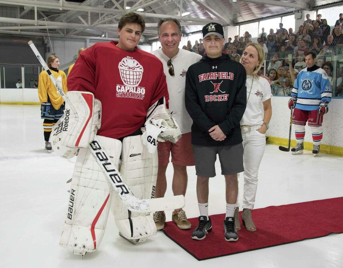 Charlie Capalbo hockey jamboree on April 29 at the Wonderland of Ice