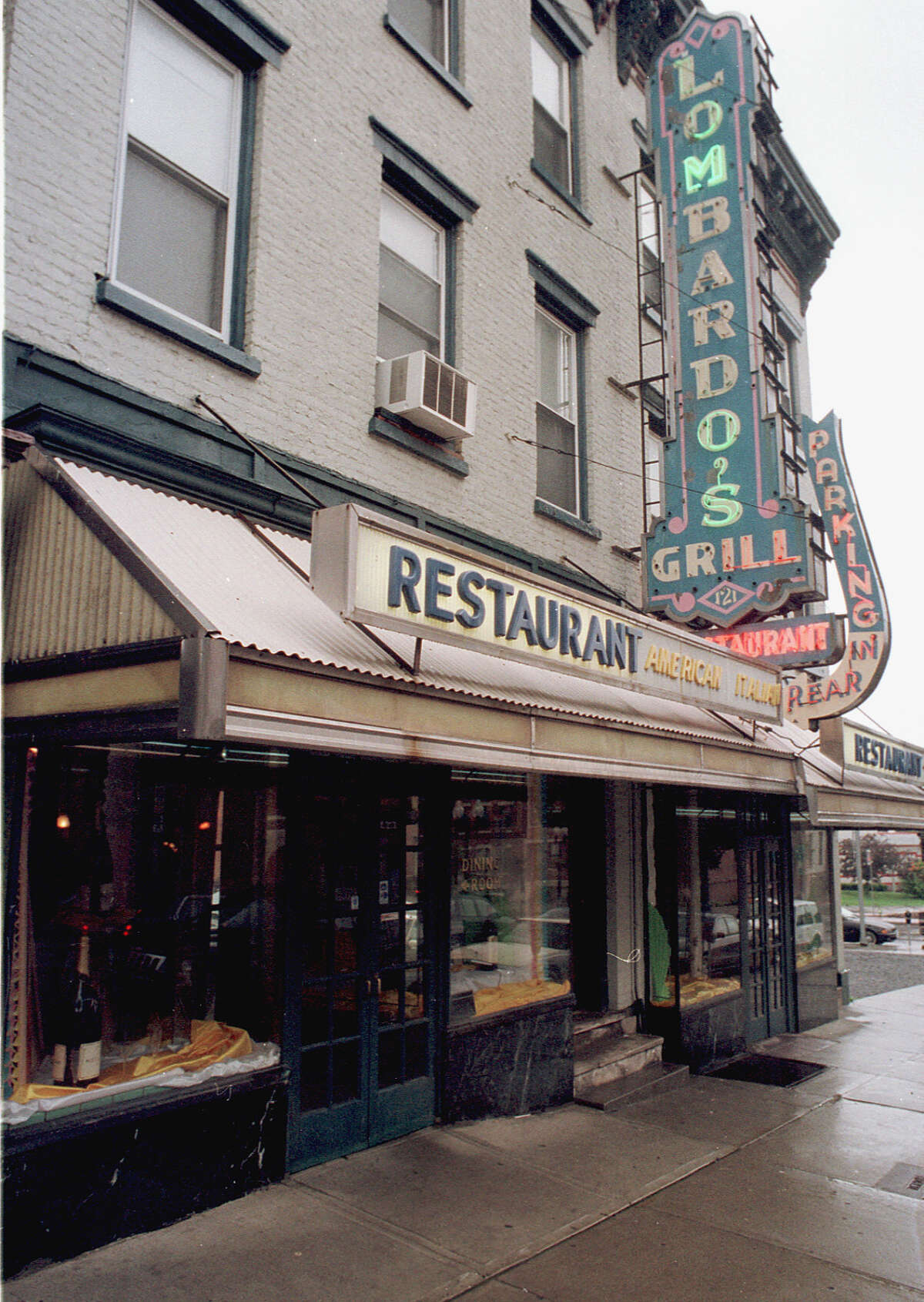 The exterior of Lombardo's Restaurant on Madison Avenue in Albany, N.Y., on June 13, 2000.