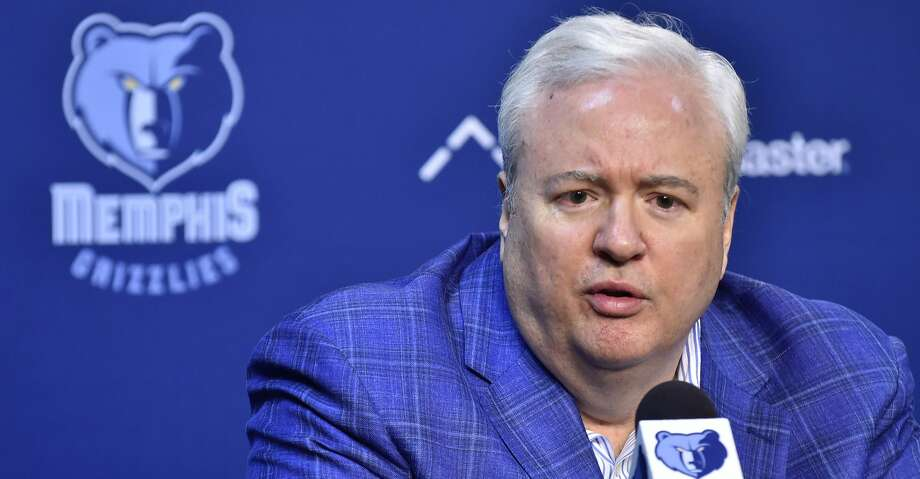PHOTOS: Rockets game-by-game Memphis Grizzlies general manager Chris Wallace addresses the media during a press conference regarding the firing of coach David Fizdale on November 28, 2017 at FedEx Forum in Memphis, TN. (Photo by Austin McAfee/Icon Sportswire via Getty Images) Browse through the photos to see how the Rockets have fared in each game this season. Photo: Icon Sportswire/Icon Sportswire Via Getty Images