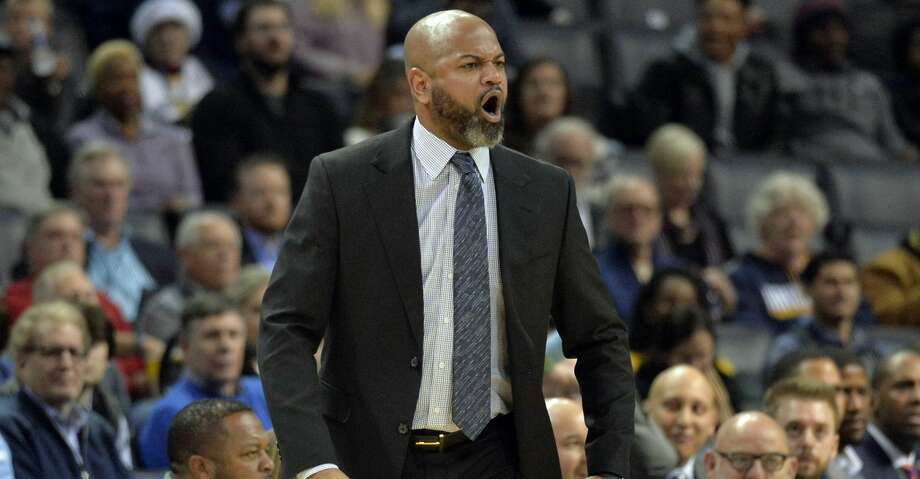 PHOTOS: Rockets game-by-game Memphis Grizzlies head coach J.B. Bickerstaff reacts to a referee's call in the first half of an NBA basketball game against the Portland Trail Blazers on Wednesday, Dec. 12, 2018, in Memphis, Tenn. (AP Photo/Brandon Dill) Browse through the photos to see how the Rockets fared in each game this season. Photo: Brandon Dill/Associated Press