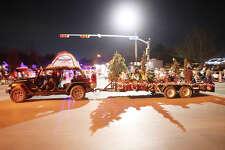 Midland's annual Christmas parade, Dec. 15, 2018. James Durbin/Reporter-Telegram
