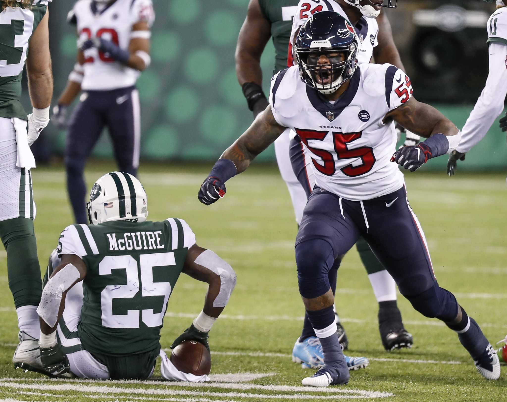 Texans' Benardrick McKinney wasn't expecting Pro Bowl selection