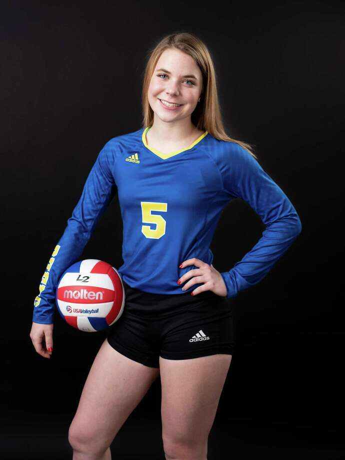 Cassidy Steadman's 165 assists, 32 digs and 12 kills helped Clemens go 7-0 to win the Seguin tourney. Photo: Matthew Busch /Courtesy Photo / San Antonio Express-News