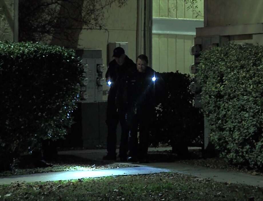 San Antonio police say a man returning home from a night out was shot several times in the parking lot of his apartment complex Sunday morning, Dec. 16, 2018, on the Northeast Side. Photo: 21 Pro Video