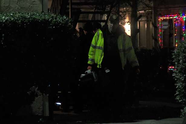 San Antonio police say a man returning home from a night out was shot several times in the parking lot of his apartment complex Sunday morning, Dec. 16, 2018, on the Northeast Side.
