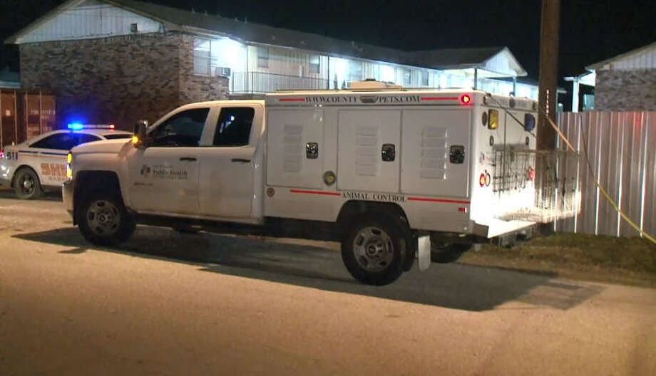 A 15-year-old boy was shot Saturday night in eastern Harris County. Photo: Metro Video