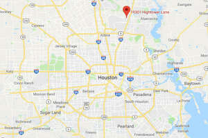 A man was stabbed to death Saturday morning in northern Harris County.