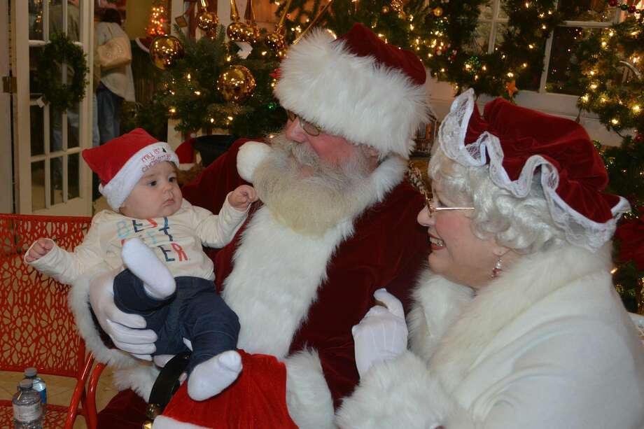 Santa stopped by Hollandia Nursery in Bethel on December 16, 2018. Were you SEEN meeting with Santa and enjoying the holiday decorations? Photo: Vic Eng / Hearst Connecticut Media Group