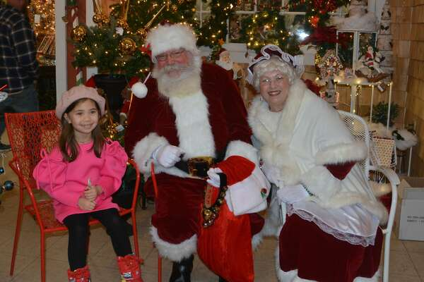 Santa stopped by Hollandia Nursery in Bethel on December 16, 2018. Were you SEEN meeting with Santa and enjoying the holiday decorations?