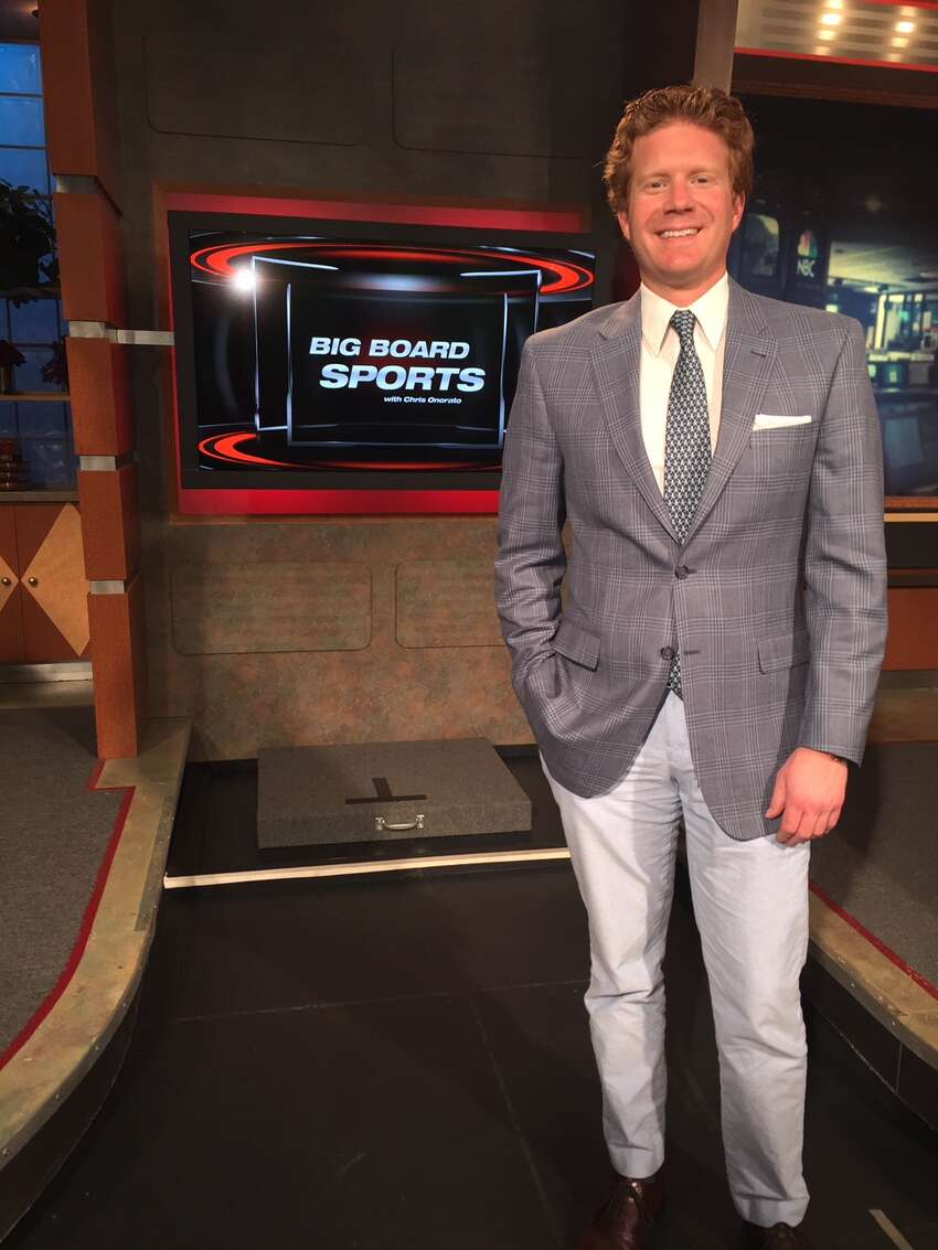 Click through the slideshow for 20 things you don't know about Chris Onorato, local sports anchor/reporter and talk radio host.
