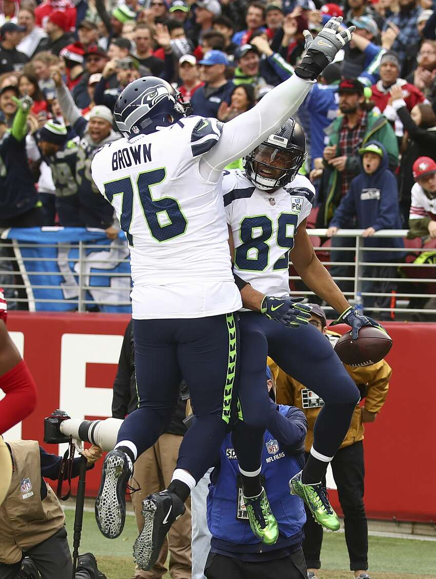 BROWN SAYS O-LINE CAN BE BEST IN NFL It wasn't too long ago that the Seahawks O-line was considered one of the worst in the NFL -- a constant achilles heel for Russell Wilson and the team's offensive flow. Really, the legitimate woes go back as recent as Week 2 of the 2018 season, when the team had given up six sacks for a second consecutive game. But entering 2019, Seattle boasts more experience up front. Four starters from last year's line are returning. It'll be year 2 with position coach Mike Solari; another year of that elevated pride in physical and aggressive run-blocking. Those factors, Duane Brown said, gives the O-line the potential to be