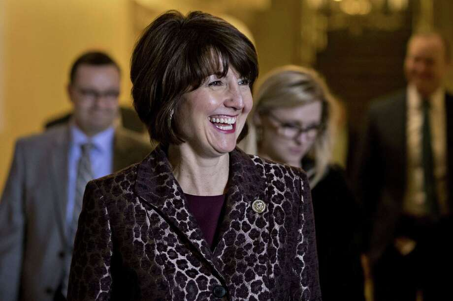 Rep. Cathy McMorris Rodgers, R-Wash., walks to a House Republican conference meeting at the Capitol in Washington on March 21, 2017. McMorris Rodgers has championed Republican women for a decade as the only woman in GOP leadership. Photo: Bloomberg Photo By Andrew Harrer. / © 2017 Bloomberg Finance LP