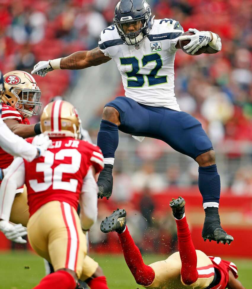 RUNNING BACKS (5) KEEP: Chris Carson, Rashaad Penny, J.D. McKissic, C.J. Prosise, Nick Bellore CUT: Travis Homer, Bo Scarbrough, Marcelias Sutton ARGUMENT: A fullback is essentially a necessity for Seattle's run-first offensive philosophy, so that's why Nick Bellore makes the cut. A former linebacker, Bellore brings special-teams value too. That's why the Seahawks signed him to a two-year, $2.23 million deal with $600,000 guaranteed this offseason. Prosise has been oft-injured in his short career, but as a former third-round pick in the last year of his rookie deal, there isn't much to gain from cutting him from a salary-cap standpoint. The approach should be to ride out his contract in 2019. And who knows? Maybe he stays healthy and has a productive year. The goal would be to get sixth-round pick Travis Homer, who's impressed in the offseason, on the 10-man practice squad.
