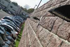 "The decision to add ""as many parking spaces as quickly as possible"" required the construction of ""an architecturally aesthetic"" retaining wall."