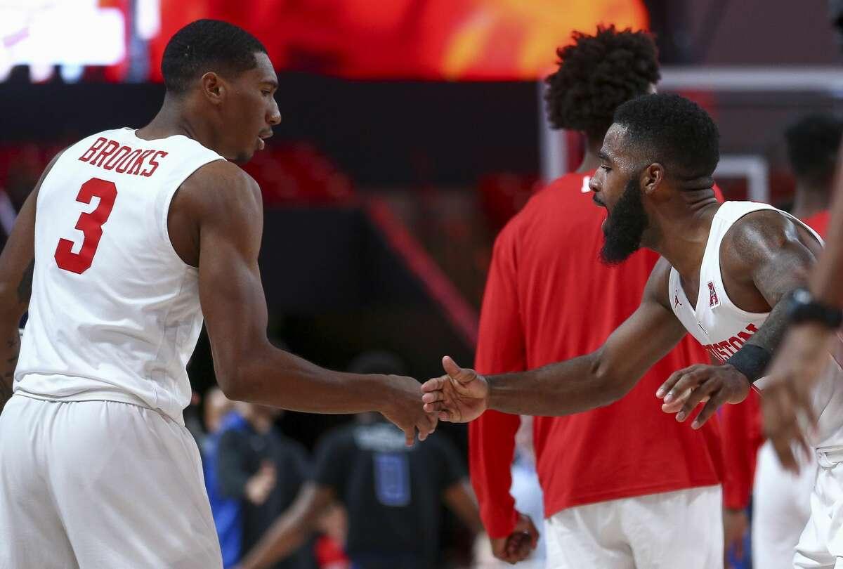 Brison Gresham Houston Cougars Basketball Jersey - Red
