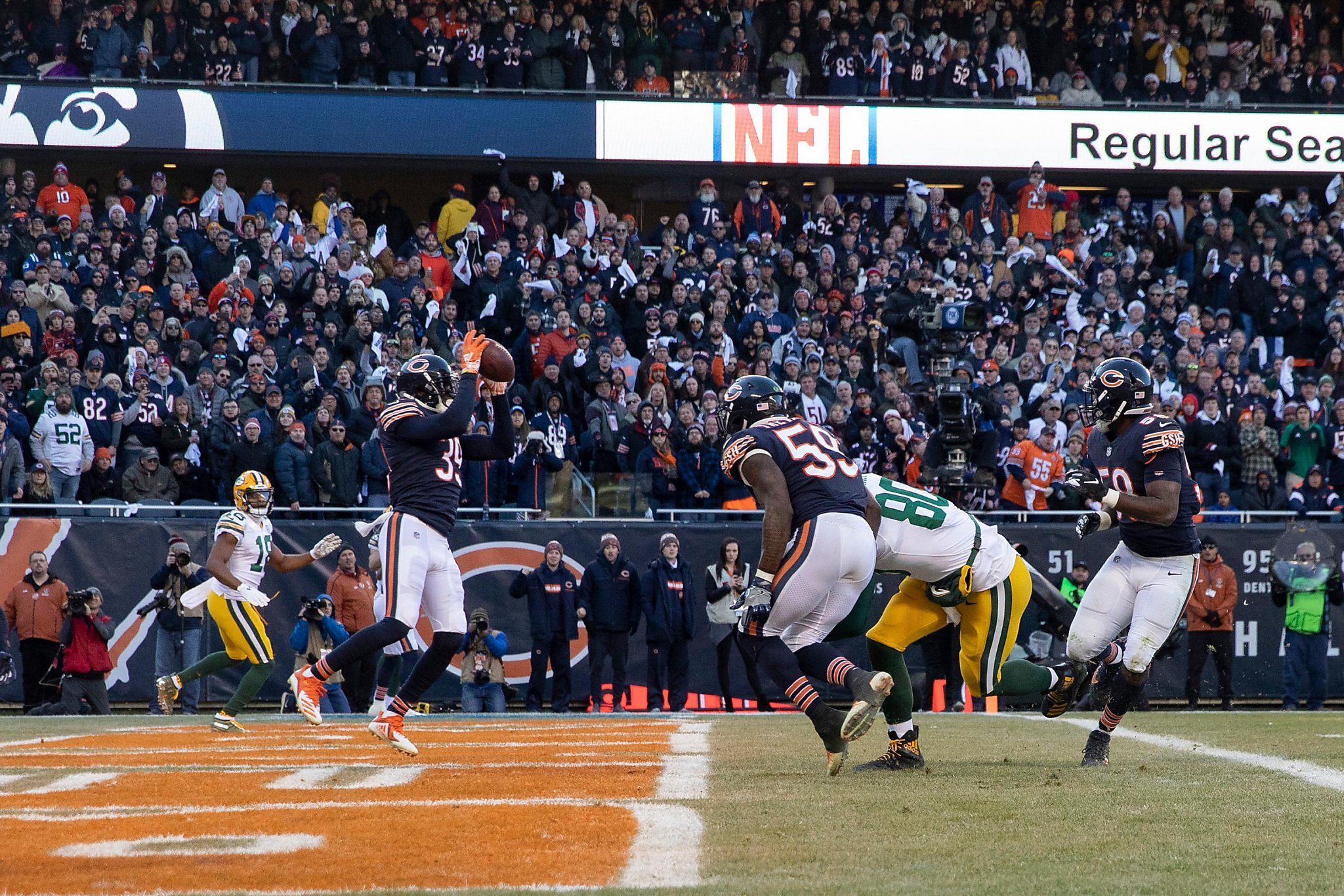 Bears clinch NFC North with victory over Packers - SFGate 8f9a77685