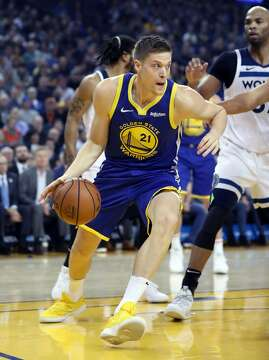 3of13Golden State Warriors  Jonas Jerebko during 116-108 win over Minnesota  Timberwolves in NBA game at Oracle Arena in Oakland 202b13092