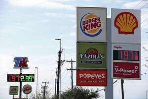 Gas prices have continued to fall to an average of $1.95 a gallon in San Antonio.