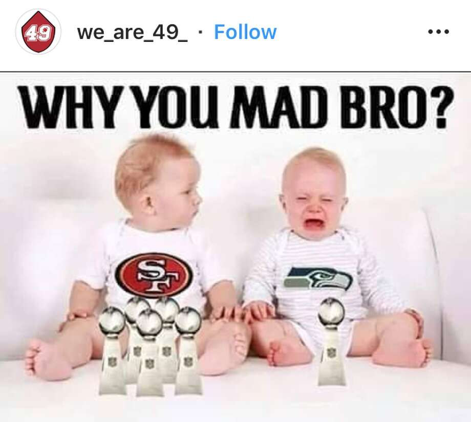 bbf6d3c25 Memes celebrate 49ers win over Seahawks, Raiders fans quiet after loss -  SFGate
