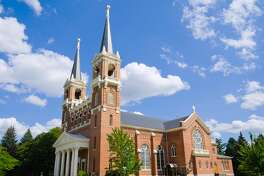 """St Aloysius Church on the Gonzaga University campus in Spokane, WA."""