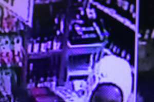 Hamden Police are seeking two people who allegedly stole from an area liquor store and injured an employee. Images of the suspects were captured via surveillance video. Anyone with information is asked to contact Officer Kyle Sampognaro of the Hamden Police Department Patrol Division at 203-230-4030.