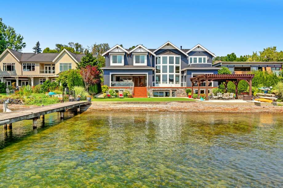 Grand on every level, this waterfront mansion asks $6.6M Photo: Kristina English/Vista Estate Imaging