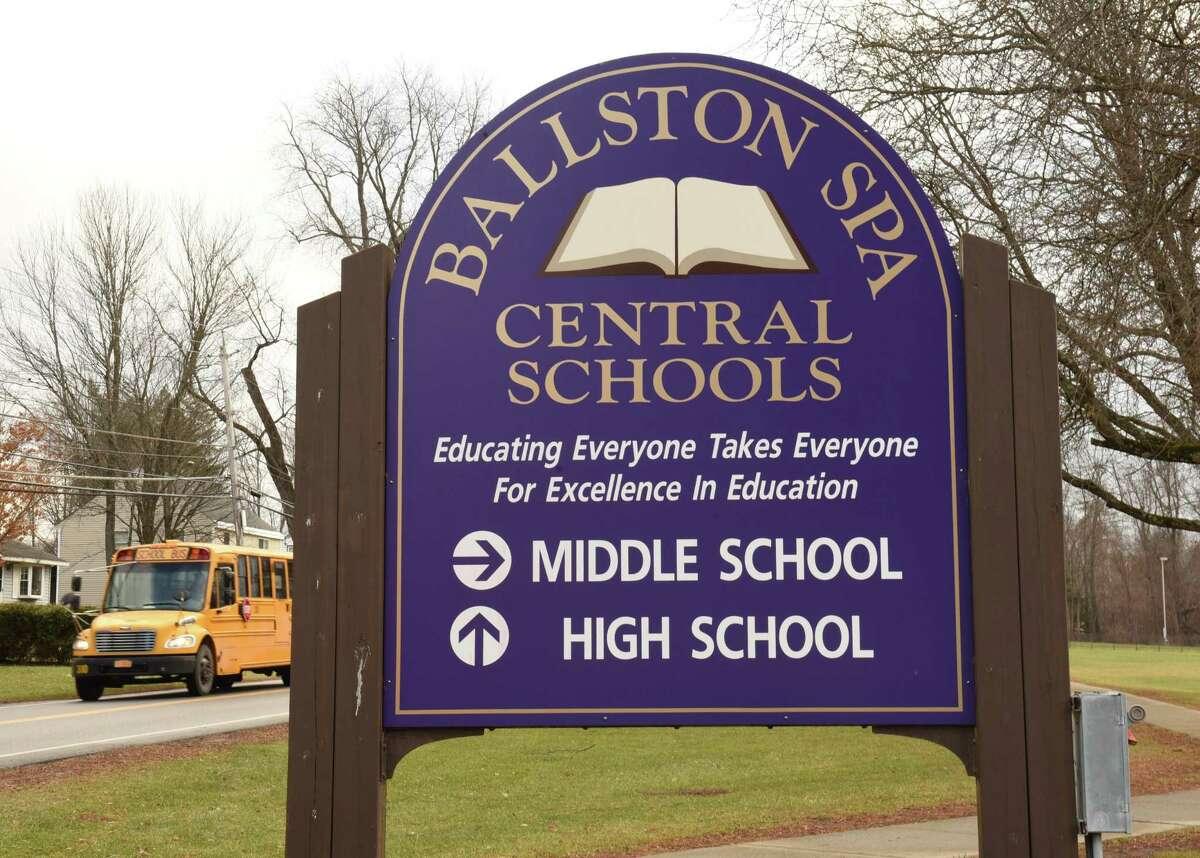 Joe McClements teaches gym at Ballston Spa Middle School. (Lori Van Buren/Times Union)