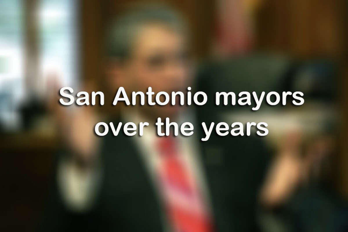 Click through the slideshow above for San Antonio mayors over the years.