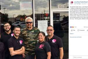 """San Antonio restaurant  Luna Rosa Puerto Rican Grill y Tapas  will be featured on Guy Fieri's """"Diners, Drive-Ins and Dives"""" at 8 p.m. Dec. 28 and 11 p.m. Dec. 29."""