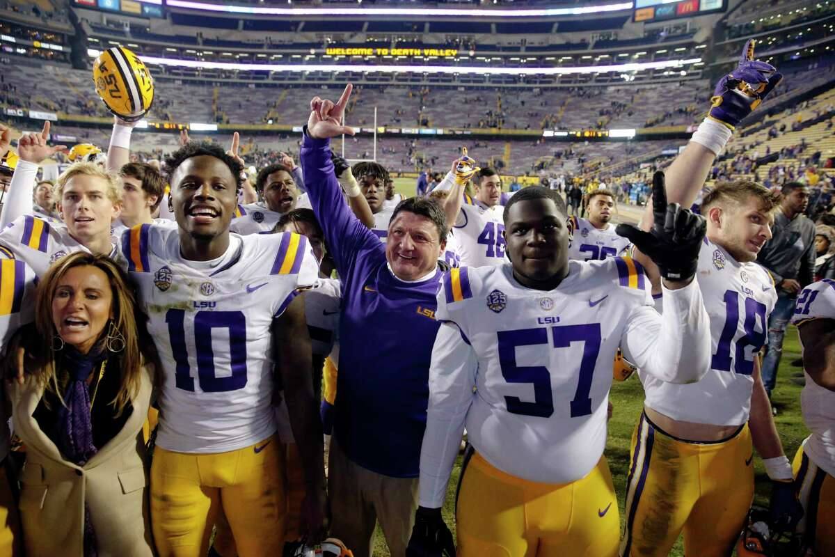 23 (tie). Ed Orgeron, LSU $3.5 million per year (Source)