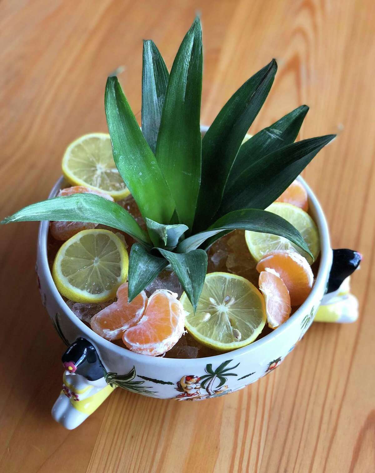 The MacColl Bowl is one of the cocktail bowl options, to be shared by two to six guests, offered at UB Preserv.
