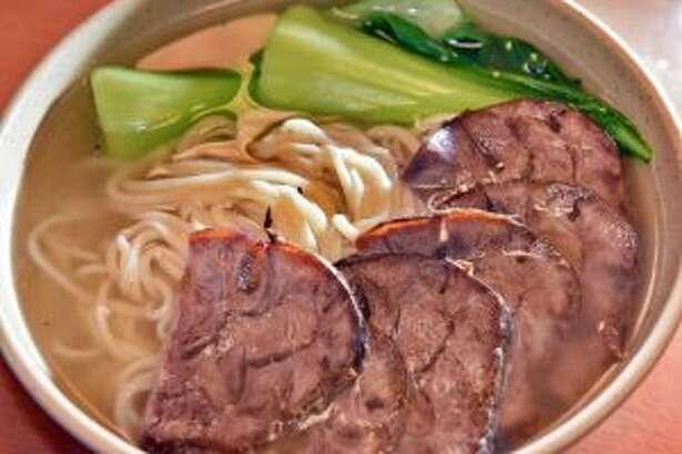Beef lamian soup. (John Carl D'Annibale/Times Union)