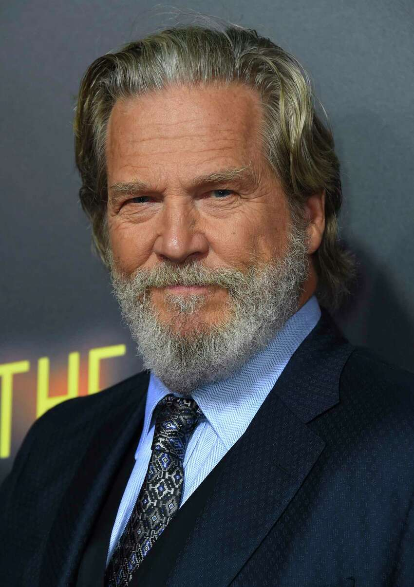 FILE - In this Sept. 22, 2018 file photo, Jeff Bridges arrives at the Los Angeles premiere of