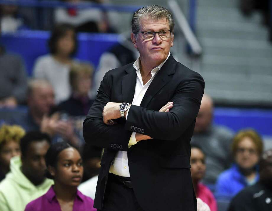 UConn coach Geno Auriemma. Photo: Stephen Dunn /Associated Press / Copyright 2018 The Associated Press. All rights reserved